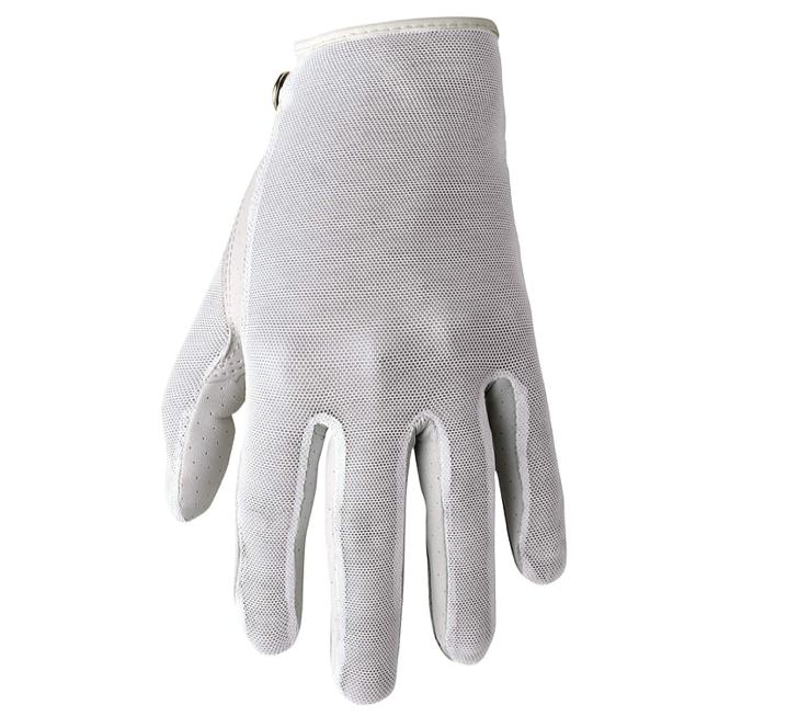 Footjoy Footjoy Stacooler Fashion Glove met Aloë Vera, wit, zomer golfhandschoen Links