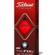 Titleist Titleist TruFeel dozijn golfballen rood, nieuwe Trusoft