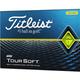 Titleist Titleist TourSoft dozijn golfballen geel