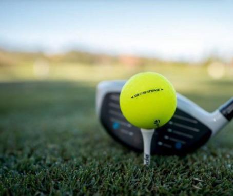 Taylor Made TaylorMade Soft Response golfballen geel