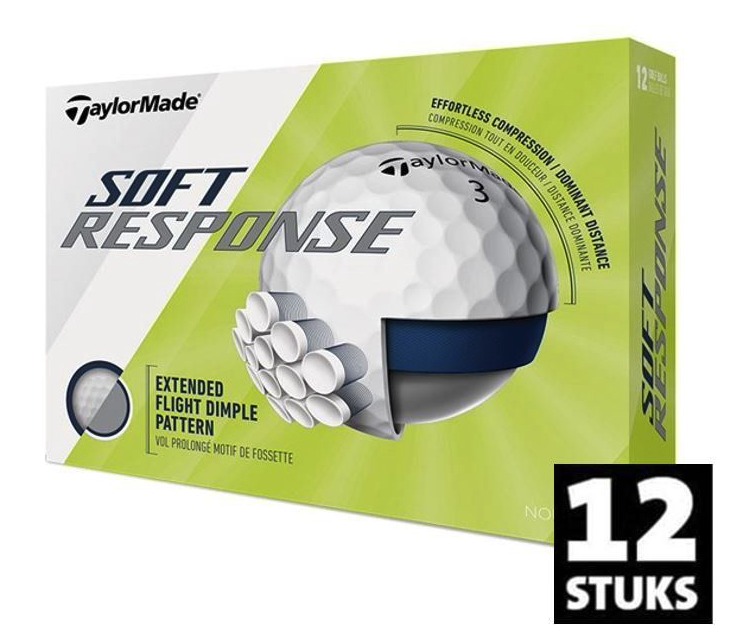 Taylor Made TaylorMade Soft Response golfballen wit