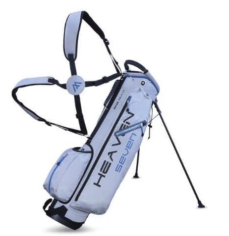 Big Max Big Max golftas Heaven 7 standbag zilver grijs