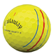 Callaway Callaway Chrome Soft X LS Tripple Track golfballen geel