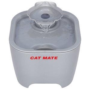 Catmate Drinkfontein met schelp Titanium 3  liter