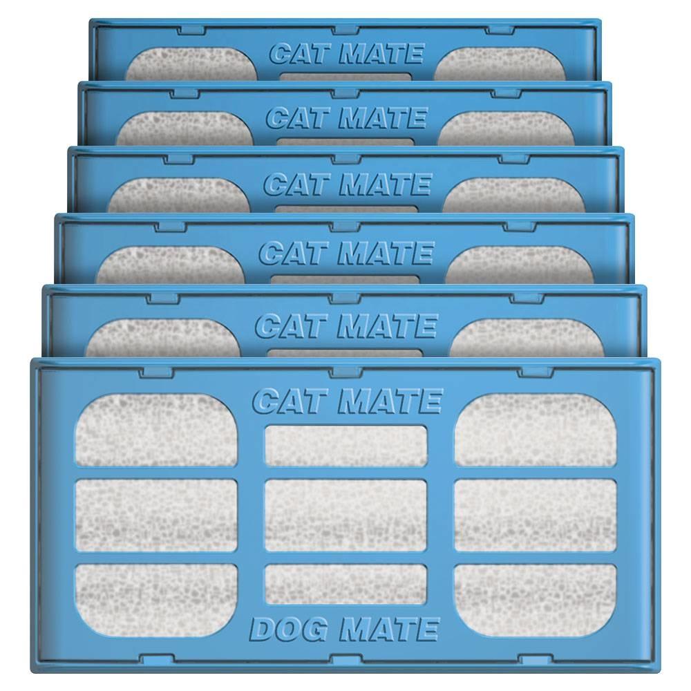 Catmate Vervang filterpatronen  6 stuks voor drinkfonteinen