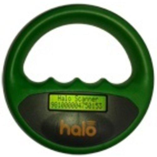 Halo Halo microchip scanner groen