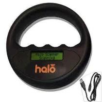 Halo microchip scanner zwart