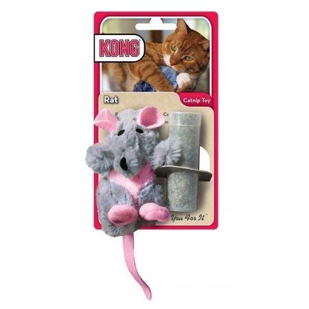 Kong Muis/rat - Hervulbaar kattenspeeltje