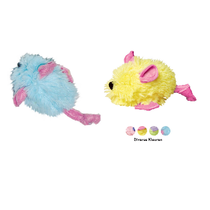 Zachte speelgoed muisjes - 2 stuks