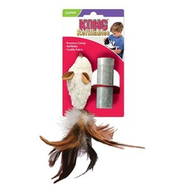 Kong Catnip Refillables - Feather Mouse