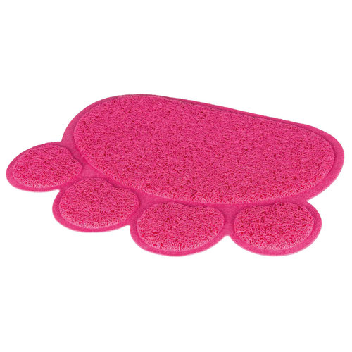 Trixie Kattenbak Schoonloopmat - Pootvorm Roze