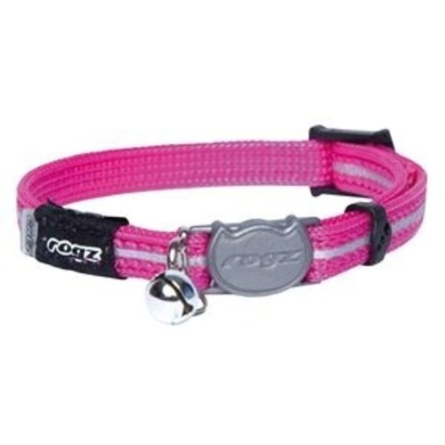 Rogz beltz AlleyCat Halsband  XS Pink