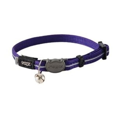 Rogz beltz AlleyCat Halsband  XS Purple