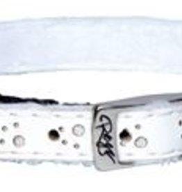 Rogz beltz Trendycat Leather White