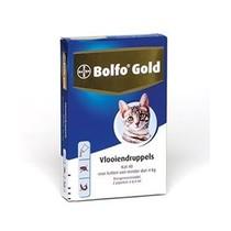 Bolfo Gold Kat 40 tot 4 kg  2 Pipet