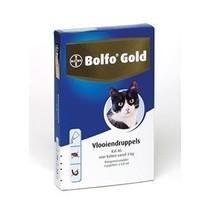 Bolfo Gold Kat 80  voor 4 kg en zwaarder  4 Pipet