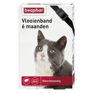Beaphar Vlooienband Kat - Zwart