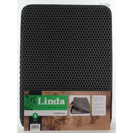 Linda Uitloop mat 40 x  55 cm
