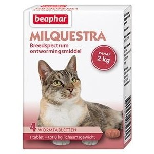 Beaphar Milquestra  Wormtabletten Kat