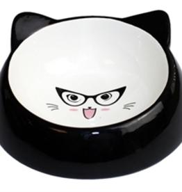 Happy Pet Voerbak kat speciaal zwart