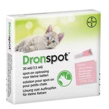 Bayer Nieuw! Dronspot 30 kleine kat van  0,5 - 2,5 kg