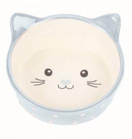 Happy Pet Voerbak kat Polka blauw