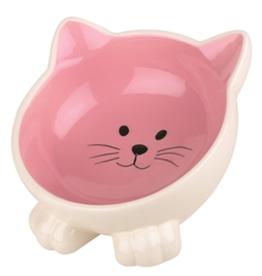 Happy Pet Voerbak kat  Orb roze