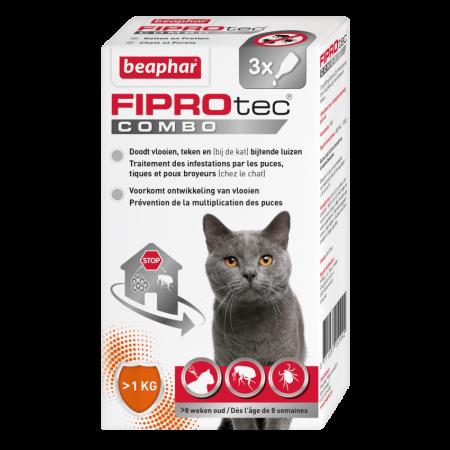 Beaphar FiproTec Combo Cat 3 pipet