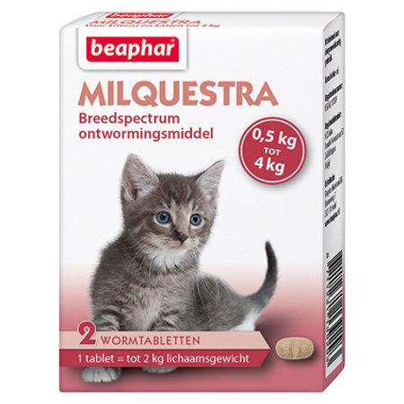 Beaphar Milquestra Wormtabletten Kitten - 2 stuks