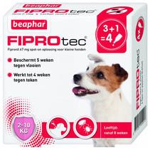 FiproTec Dog 2-10 kg. 3+1