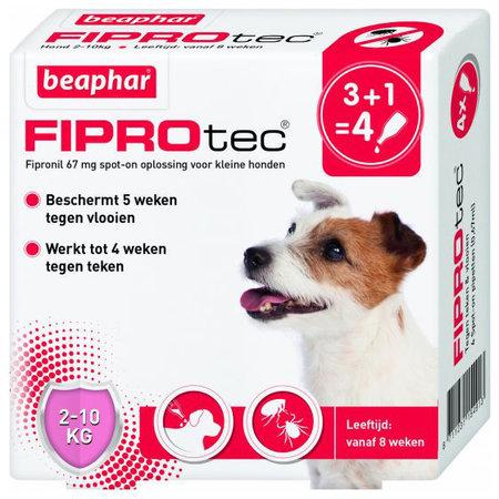 Beaphar FiproTec Dog 2-10 kg. 3+1