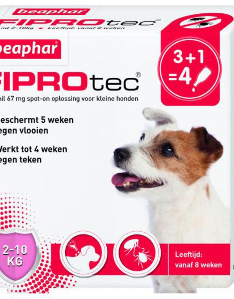 Beaphar FiproTec Hond - 2-10kg