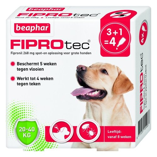 Beaphar FiproTec Hond - 20-40kg