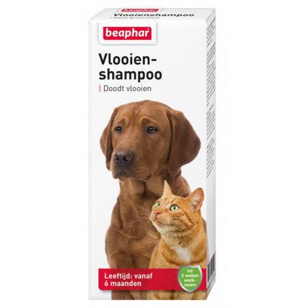 Beaphar Vlooienshampoo voor hond en kat 100 ml