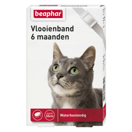 Beaphar Vlooienband Kat - Wit