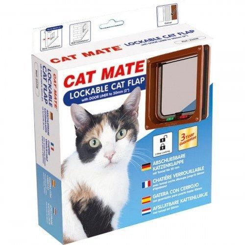 Catmate Kattenluik 234 - Bruin
