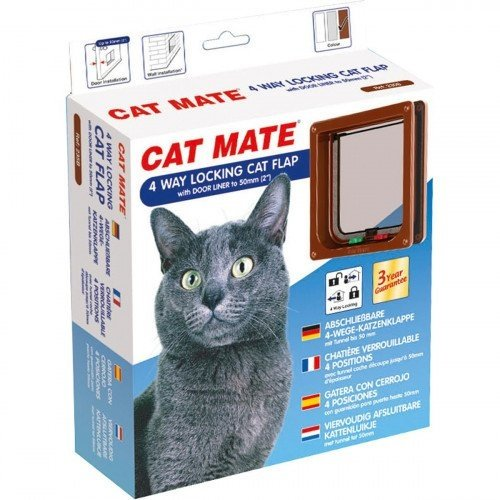 Catmate Kattenluik 235 - Bruin