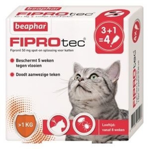 Vlooienpipetten voor katten