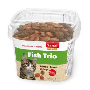 Sanal Fish Trio in cup 75 gram