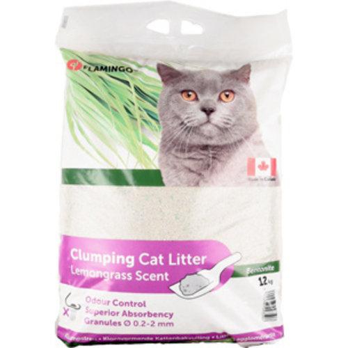Klontvormend kattengrit Citroengras 12 kg