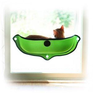 KH Raambed voor de kat groen