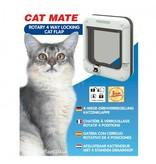Catmate Rotary 4 standen kattenluik 358