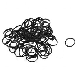 Rubber Bands Black | 100pcs