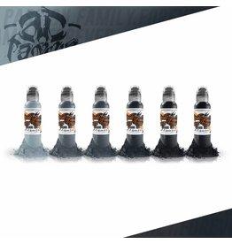 World Famous World Famous Pancho Pastel Ink set | 6 x 30ml