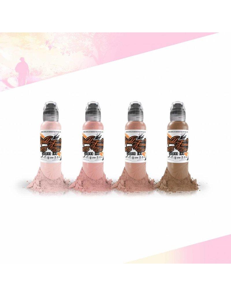 World Famous Maks Kornev's Pink Skintone Set |  4x30ml