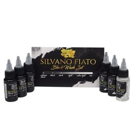 World Famous World Famouse Silvano Fiato Black Wash Set - 1oz - 6 x 30ml