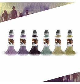 World Famous Maks Kornev's Zombie Color Set | 6x30ml