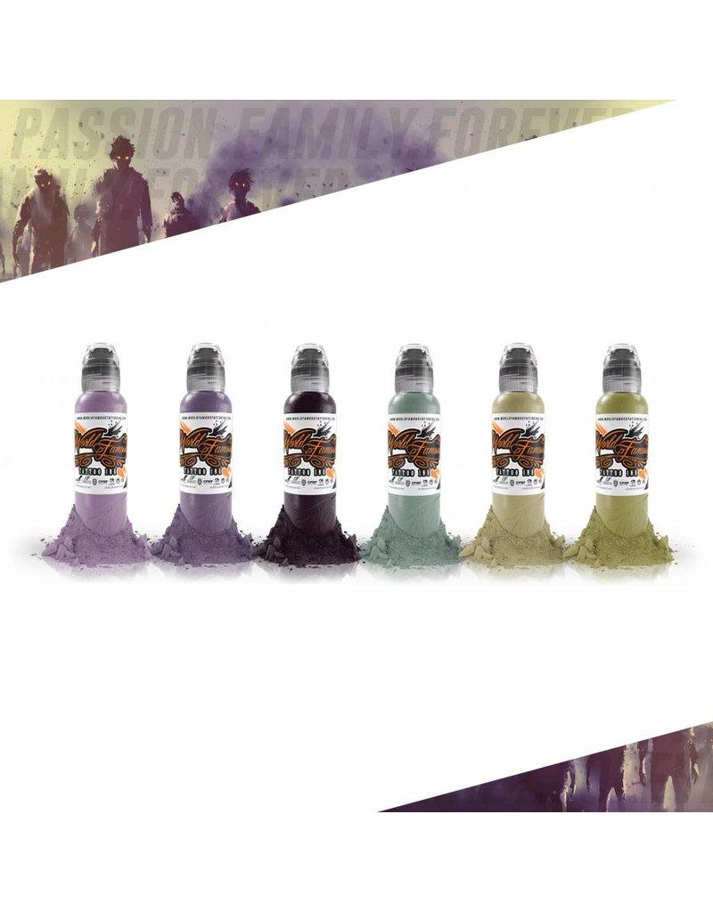 World Famous Maks Kornev's Zombie Color Set   6x30ml
