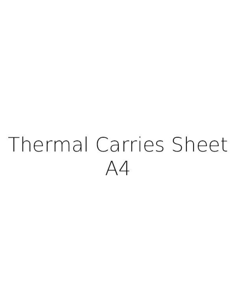 Thermal Carrier Sheet A4