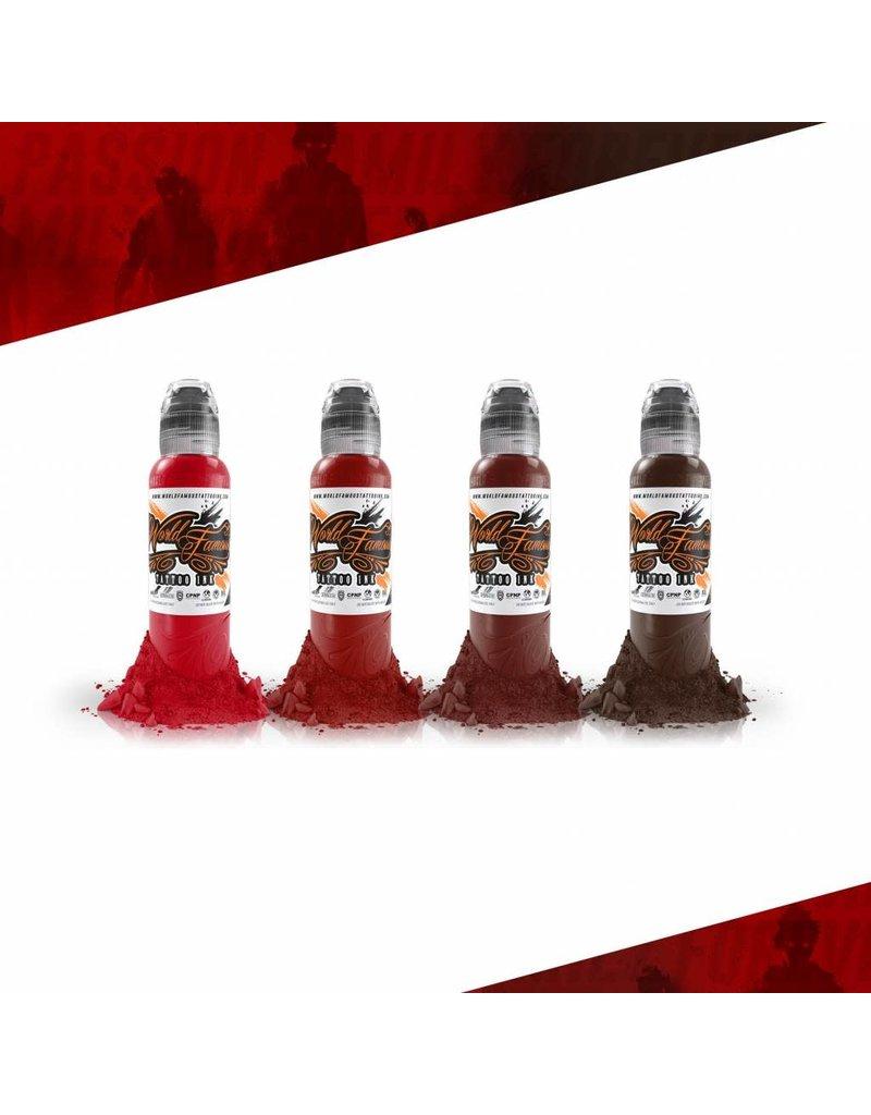 World Famous World Famouse Maks Kornev's Blood Color Set    4x30ml